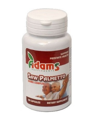SAW PALMETTO 1+1 500MG, 60CP