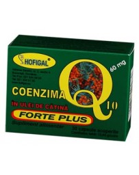 Coenzima Q10 Forte Plus 60mg , 30cp