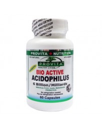 BIO-ACTIVE ACIDOPHILUS 60cp
