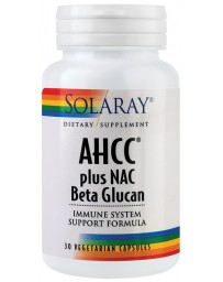 AHCC PLUS NAC & BETA GLUCAN 30cp