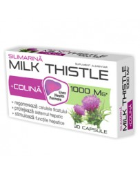 Milk Thistle + Colina 30cp