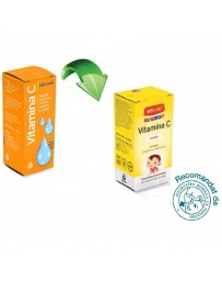 Vitamina C Junior Solutie 10ml