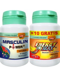 MASCULIN POWER 30cp + ENERGY MAX 10+10cp